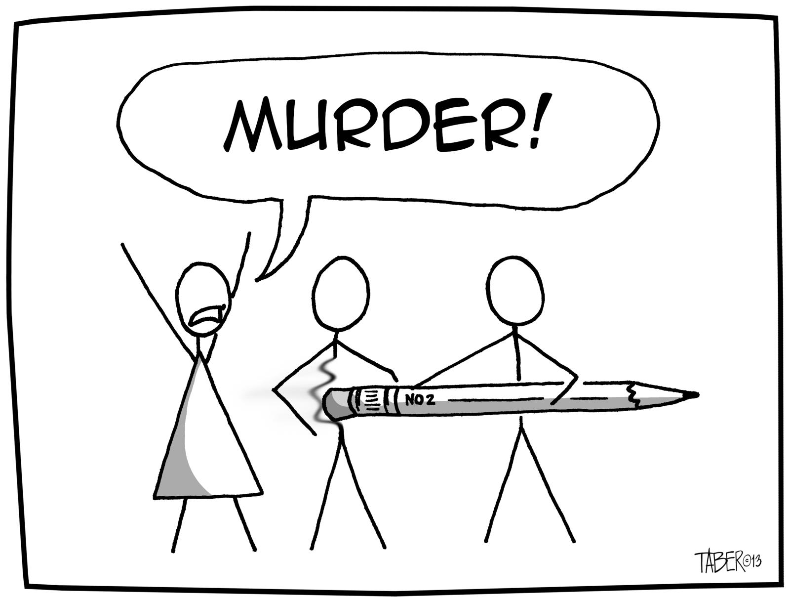 Stick Figure Murder Cartoon The Cartoons Of Forest Taber