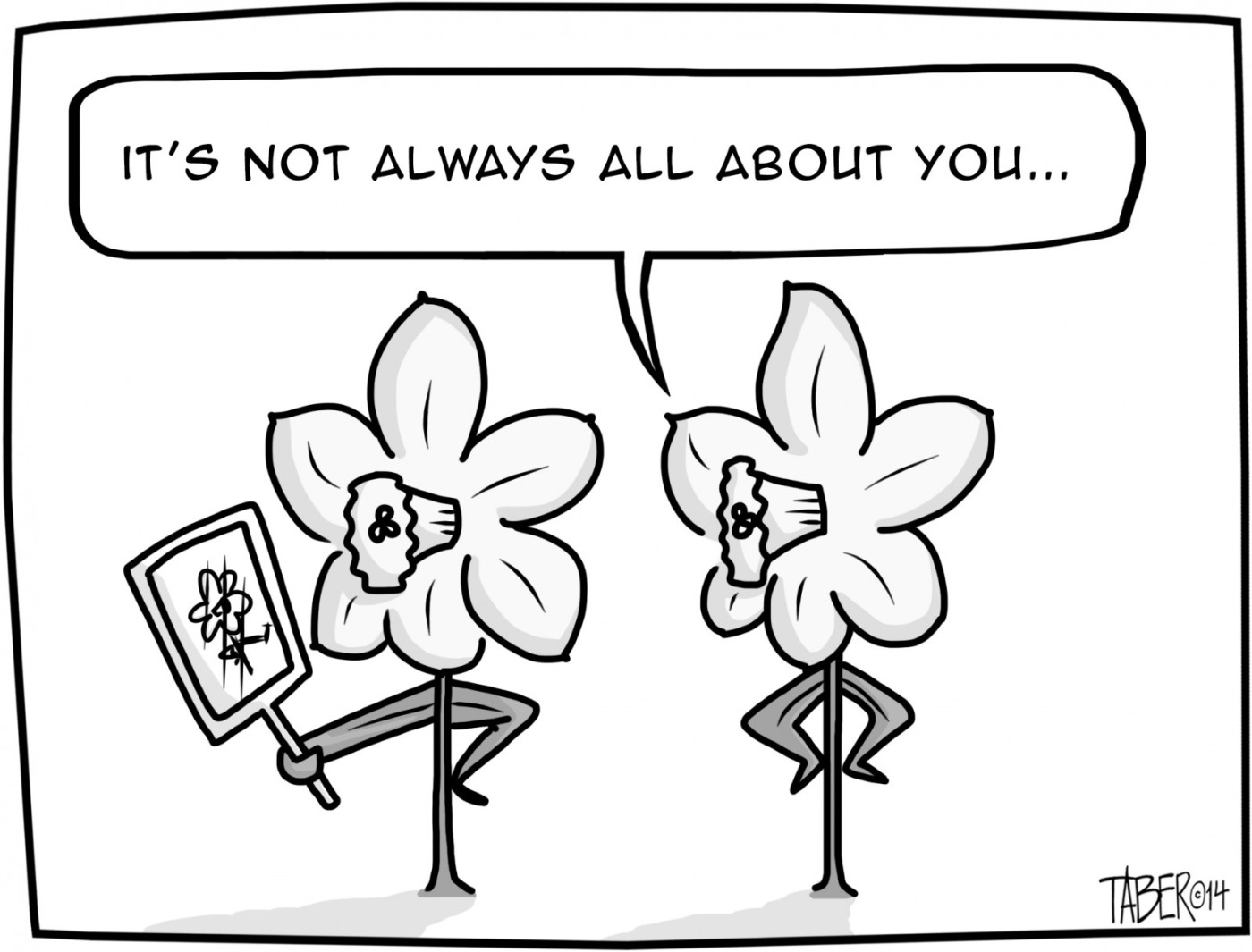springtime flowers and their foibles the cartoons of forest taber