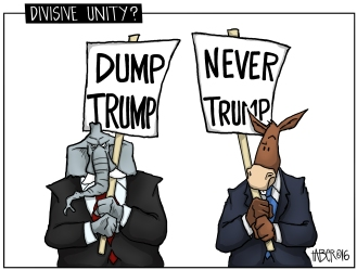 "Divisive Unity - As the old saying goes, ""Politics makes for strange bedfellows"""