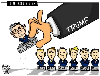 The Collector - Before the terrifying and infuriating cabinet appointments, 64 special advisers, and counting, were tapped to counsel the future president-elect