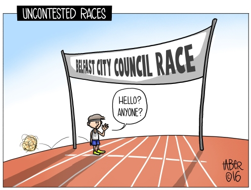 Belfast Races - Local elections don't seem to garner the same showing as those under prime time scrutiny