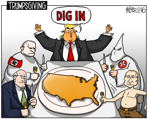 Trumpsgiving - Gather 'round, one and all