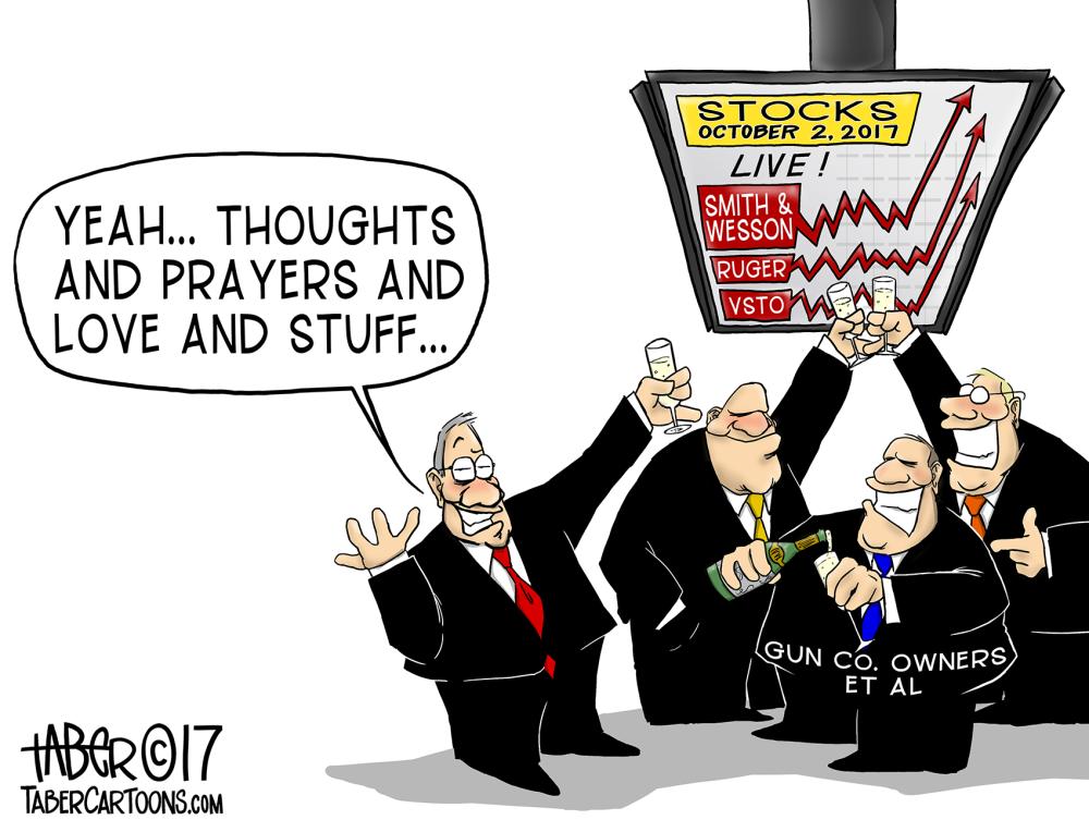 Tragedy Equals Profit