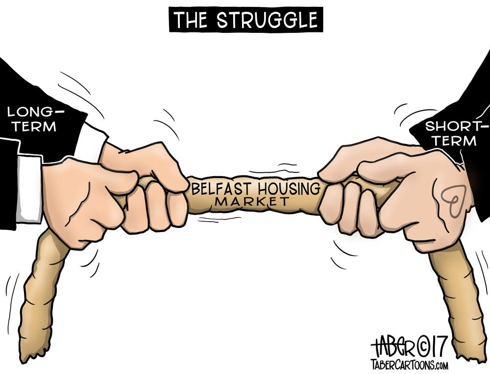 Sharing Economy Tug of War