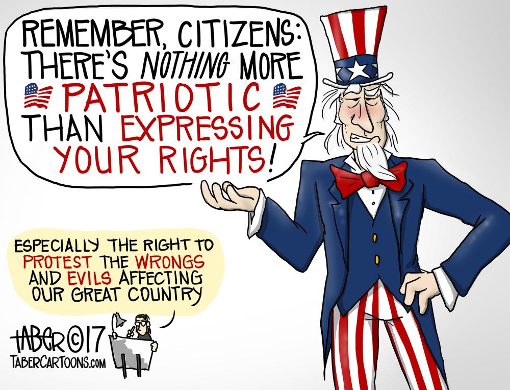 Anti-Jingosim Cartoon