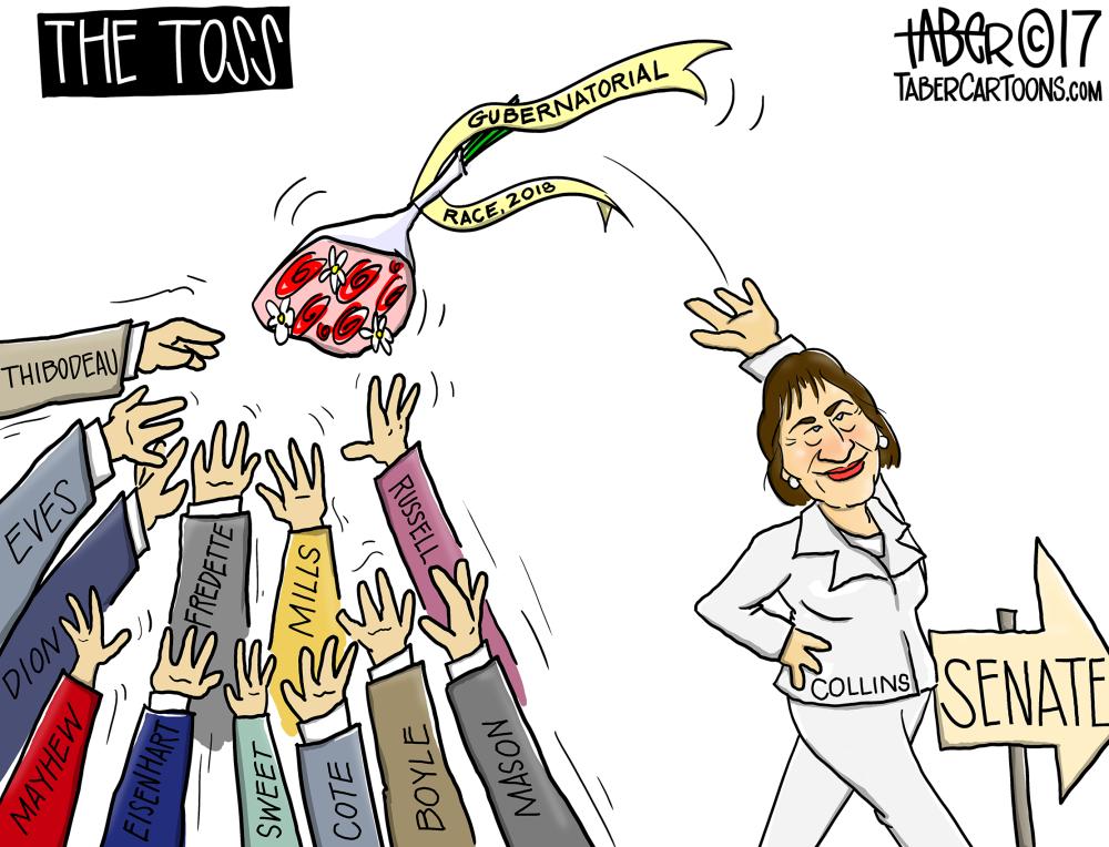 Collins' Gubernatorial Toss