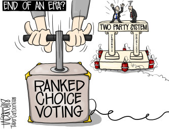 Ranked Choice Voting vs Two Party System | The Cartoons of Forest Taber